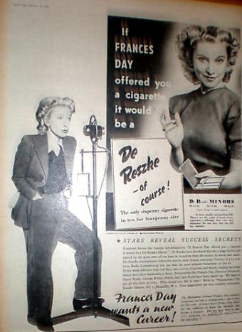 Advertised by Evelyn Laye (actress), who lived to 75