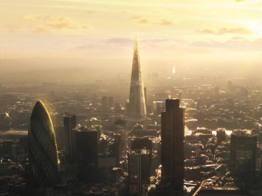 The Shard, London - artist's impression. Image: Renzo Piano
