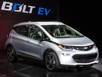 Chevrolet Bolt electric car