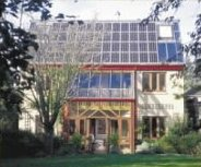 Sue Rof's Ecohouse in Oxford. Image credit: Architectural Press