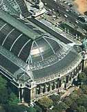 aerial view of the restored Grand Palais, Paris. Image credit: structurae.de