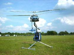 Genh-4 one-man helicopter. Image credit: Jon Plummer and Ace Craft USA