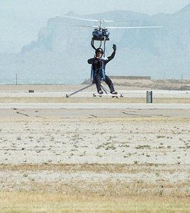 Genh-4 one-man helicopter. Image credit: Ace Craft USA