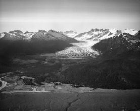 The Mendenhall Glacier in 1937