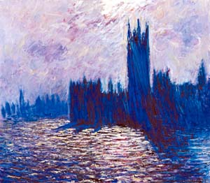 Claude Monet - Houses of Parliament. Image credit: Courtauld Gallery
