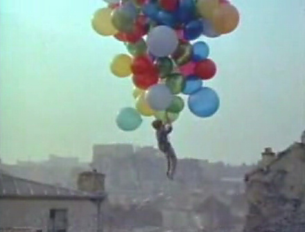 Still from Le Balloon Rouge, 1956.