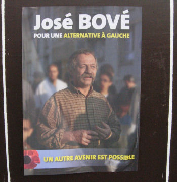 The jailbird - Jose Bove - eco-terrorist far left