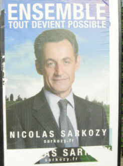 Nicholas Sarkozy, resigned from being Interior Minister to stand