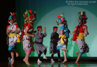 A traditional Kagoshima dance with lots of colour. Image credit: the auroran sunset