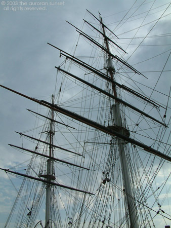 The Cutty Sark. Image credit: the auroran sunset