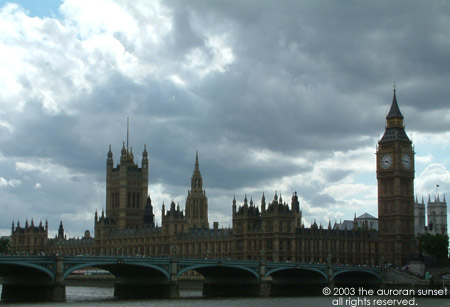 The Palace of Westminister. Image credit: the auroran sunset