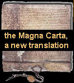 New translation, the Magna Carta